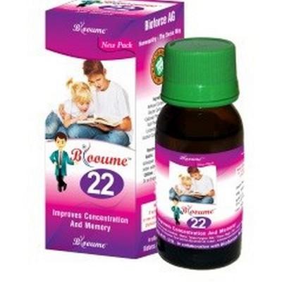 Blooume 22 Memorisan drops (30 ml)
