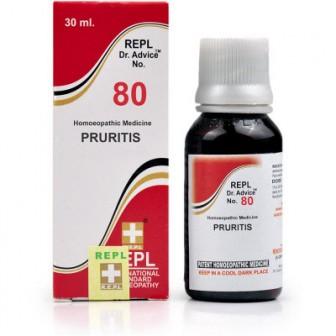 Dr Advice No.80 Pruritis (30 ml)