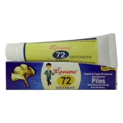 Blooume 72 Piles Salbe Ointment (20 gm)