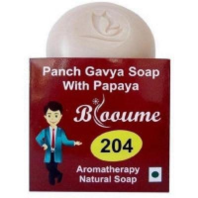 Blooume 204  Panch Gavya Soap  (100gm)