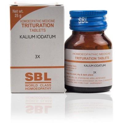 Kalium Iodatum 3X (25 gm)